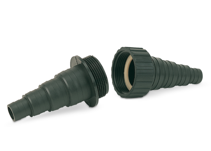Universal hose connector 1 1/2